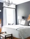 افكار تصاميم غرف نوم باللون الرمادي1
