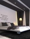 افكار تصاميم غرف نوم باللون الرمادي4