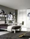 افكار تصاميم غرف نوم باللون الرمادي6