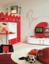 غرف نوم بالوان مشرقة للاطفال10