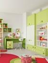 غرف نوم بالوان مشرقة للاطفال2