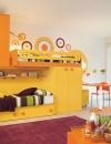 غرف نوم بالوان مشرقة للاطفال4