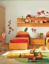 غرف نوم بالوان مشرقة للاطفال5
