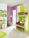 غرف نوم بالوان مشرقة للاطفال7
