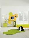 غرف نوم بالوان مشرقة للاطفال8