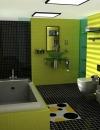افكار لتصاميم حمامات صغيرة الحجم5