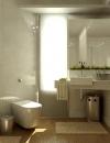 افكار لتصاميم حمامات صغيرة الحجم6