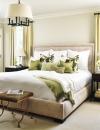 الكلاسيكية المعاصرة لوحة محايدة وتصميم تقليدي يجعل من غرفة النوم الكلاسيكية مريحة. مع اضافة مقعد من الجلد.