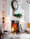كيفية انشاء غرف معيشة دافئة التصميم4