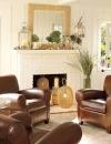 كيفية انشاء غرف معيشة دافئة التصميم6