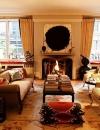 كيفية انشاء غرف معيشة دافئة التصميم8