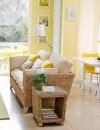 افكار وتصاميم لغرف المعيشة باللون الاصفر المشمس2