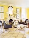 افكار وتصاميم لغرف المعيشة باللون الاصفر المشمس4