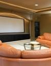 تصاميم لغرفة السينما المنزلية - Home Theater