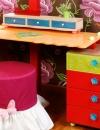 غرف نوم للفتيات غجرية الالوان10