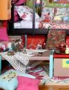 غرف نوم للفتيات غجرية الالوان6
