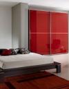 تصاميم غرف نوم باللون الاحمر والاسود2