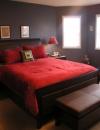 تصاميم غرف نوم باللون الاحمر والاسود4