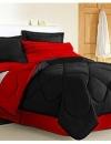 تصاميم غرف نوم باللون الاحمر والاسود5
