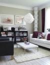 تصاميم وحلول  لغرف معيشة صغيرة الحجم4