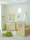افكار تصاميم غرفة طفلة رضيعة صغيرة المساحة3