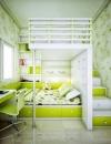 افكار تصاميم غرف نوم مشتركة للاطفال5