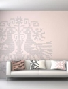 تصاميم جدران هادئة لغرفة المعيشة 4