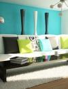 افكار تصاميم غرف معيشة ملونة2