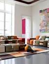 افكار تصاميم غرف معيشة ملونة7