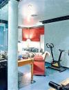 المعدات الرياضية Gym في التصميم الداخلي3