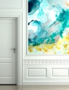 تصاميم جدران فنية بالالوان المائية1