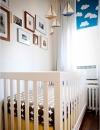 الابحار بعيداً, ارادت هذه الام من مدينة نيويورك استخدام السحب في غرفة طفلها  على النافذة, كما وضعت صور لمراكب الشراعية فوق السرير وصور عائلية مؤطرة.
