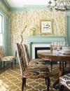 تصاميم غرف سفرة بالوان الباستيل2