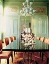 تصاميم غرف سفرة بالوان الباستيل7