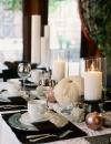 افكار ديكورات لاعداد طاولة متلألئة 3