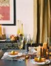 افكار ديكورات لاعداد طاولة متلألئة 5