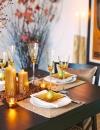 افكار ديكورات لاعداد طاولة متلألئة 7
