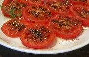 الطماطم مع الزعتر لتخفيف الوزن