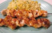 اسياخ الدجاج المشوي   -  طبق نيجيري