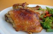 افخاذ الدجاج بالعسل والزنجبيل  - طبق فرنسي