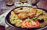 مكبوس الدجاج  - طبق بحراني