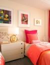 افكار تصاميم غرف نوم باللون الزهري