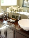 افكار تصاميم  احواض مغسلة حمام حديثة رائعة2
