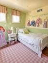 افكار تصميم غرفة نوم بنات بمساحة صغيرة4
