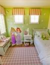 افكار تصميم غرفة نوم بنات بمساحة صغيرة8