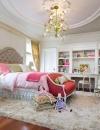 تصاميم غرف نوم اطفال رومانسية1