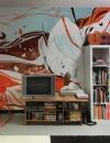 تصاميم داخلية مميزة لجداريات حائط12