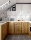 استخدام الاسطح المائلة في المطابخ الصغيرة