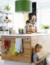 استخدام مخازن مفتوحة للمطابخ الصغيرة