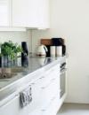 استخدام اسطح لامعة في المطابخ الصغيرة